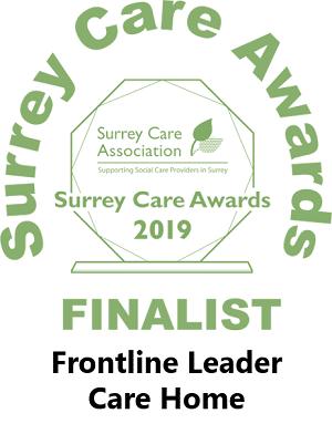 Frontline Care Home Finalist