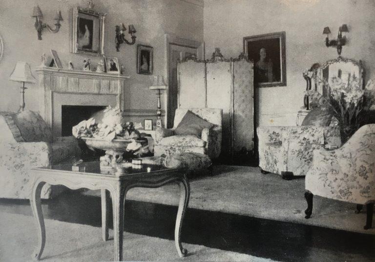 Birtley House Nursing Home Lounge 1949